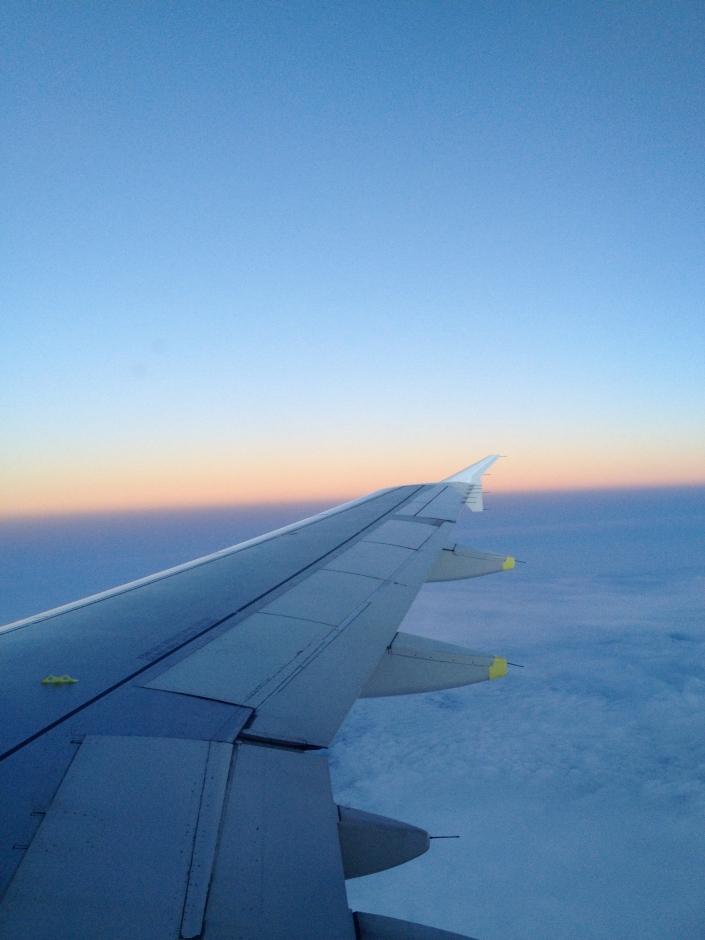 På vei til New York med skyhøye forventninger